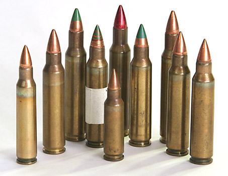 Small Caliber High Velocity Program (SCHV) cartridges.