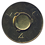 .50 BMG Blank M1 United States L C 4 head view.