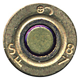 7.62mm NATO Ball (Reduced Range)  France ⊕ SF 87 head view.