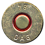 .50 BMG Tracer (Reduced Range)  West Germany DAG 84 head view.