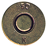 .50 BMG Ball  United Kingdom .50 K head view.