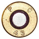 .30 Carbine Ball  United States P C 43 head view.