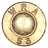 .30 Carbine Ball  United States WRA 53 head view.
