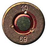 7.62mm NATO Ball  Bulgaria 10 69 head view.