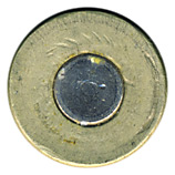 7.62mm pre-NATO Short Case Ball  United States  head view.
